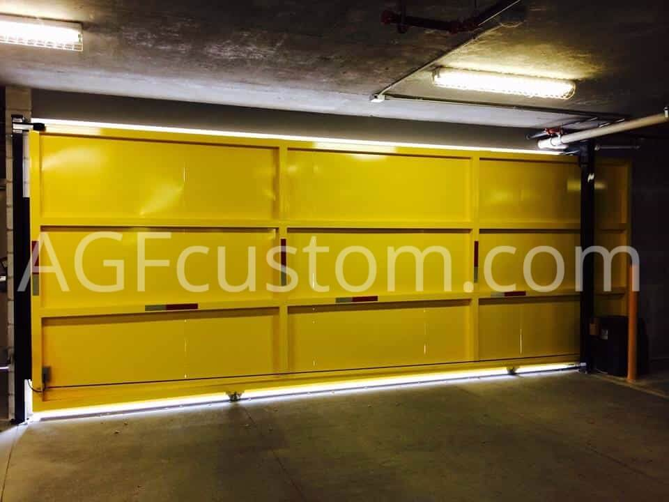 metal gate for business