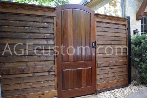 modern entryway gate