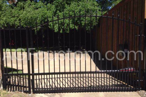 traditional driveway gate