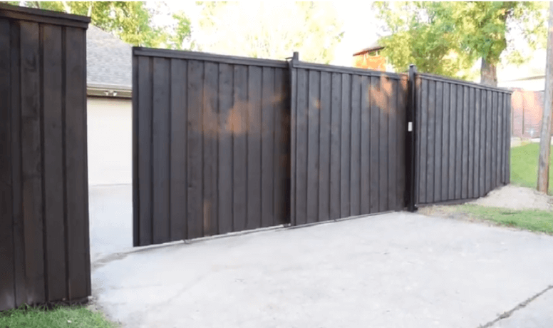 Tandem Gates for Small Driveways
