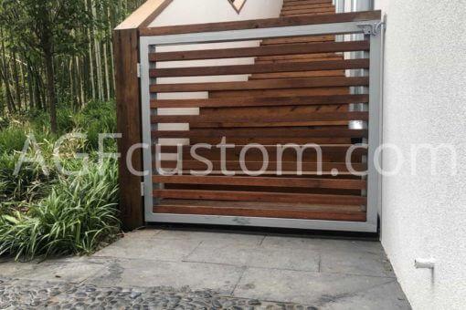 modern entry gate