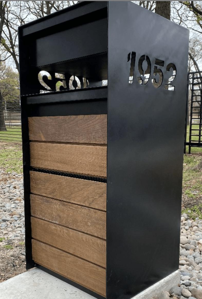 Metal Modern Mailbox