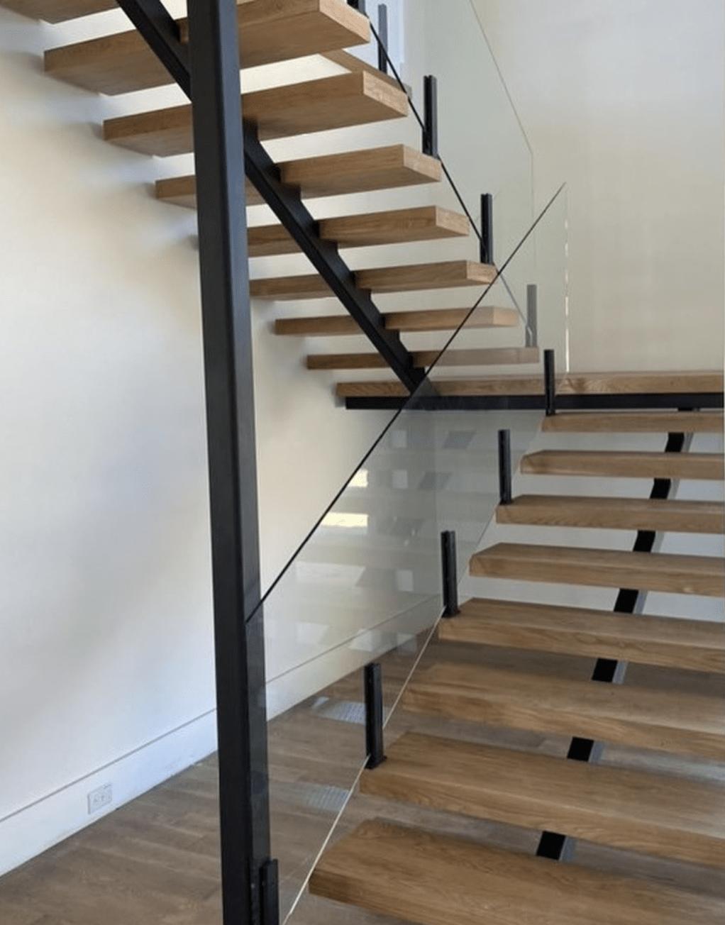 Invisible Glass Handrails